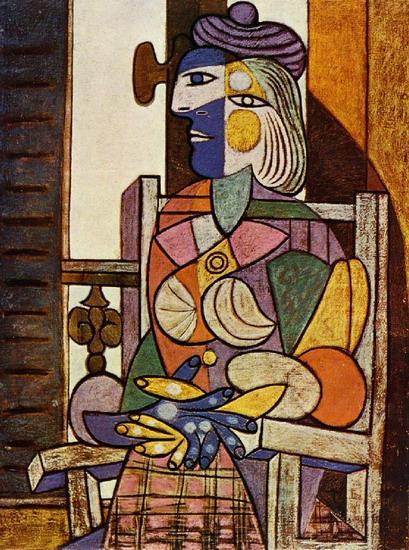 Pablo Picasso - Mulher sentada 1937